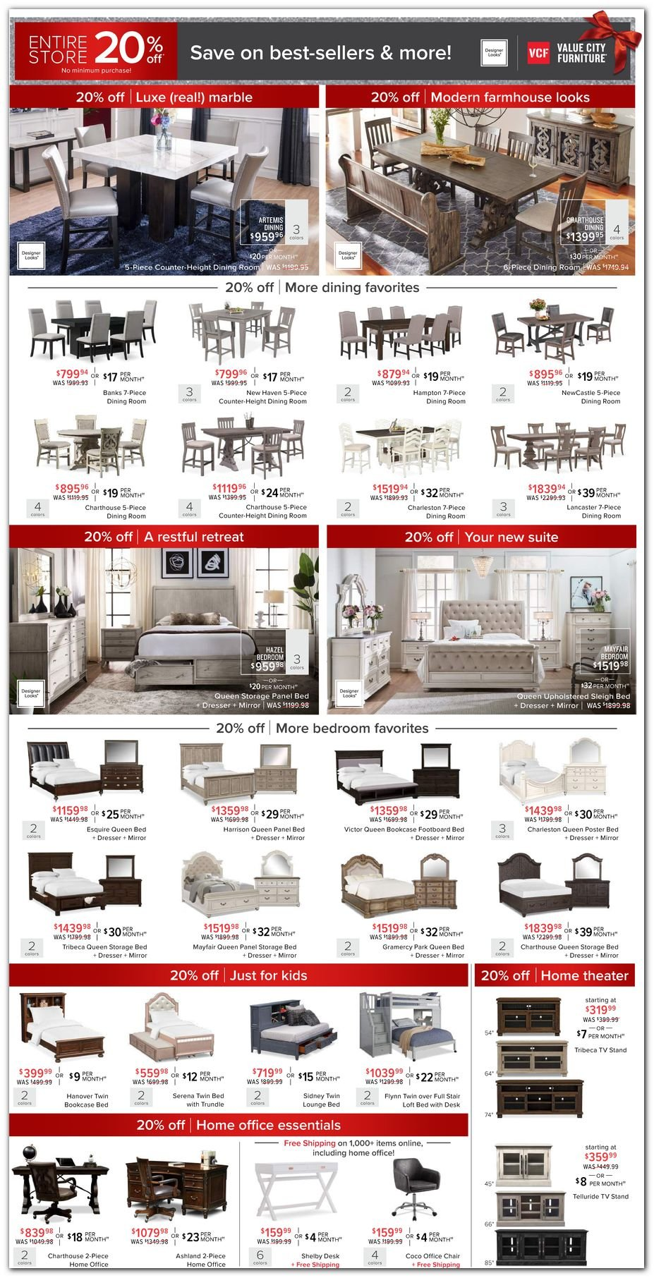 Value City Furniture Black Friday 2020 Page 2