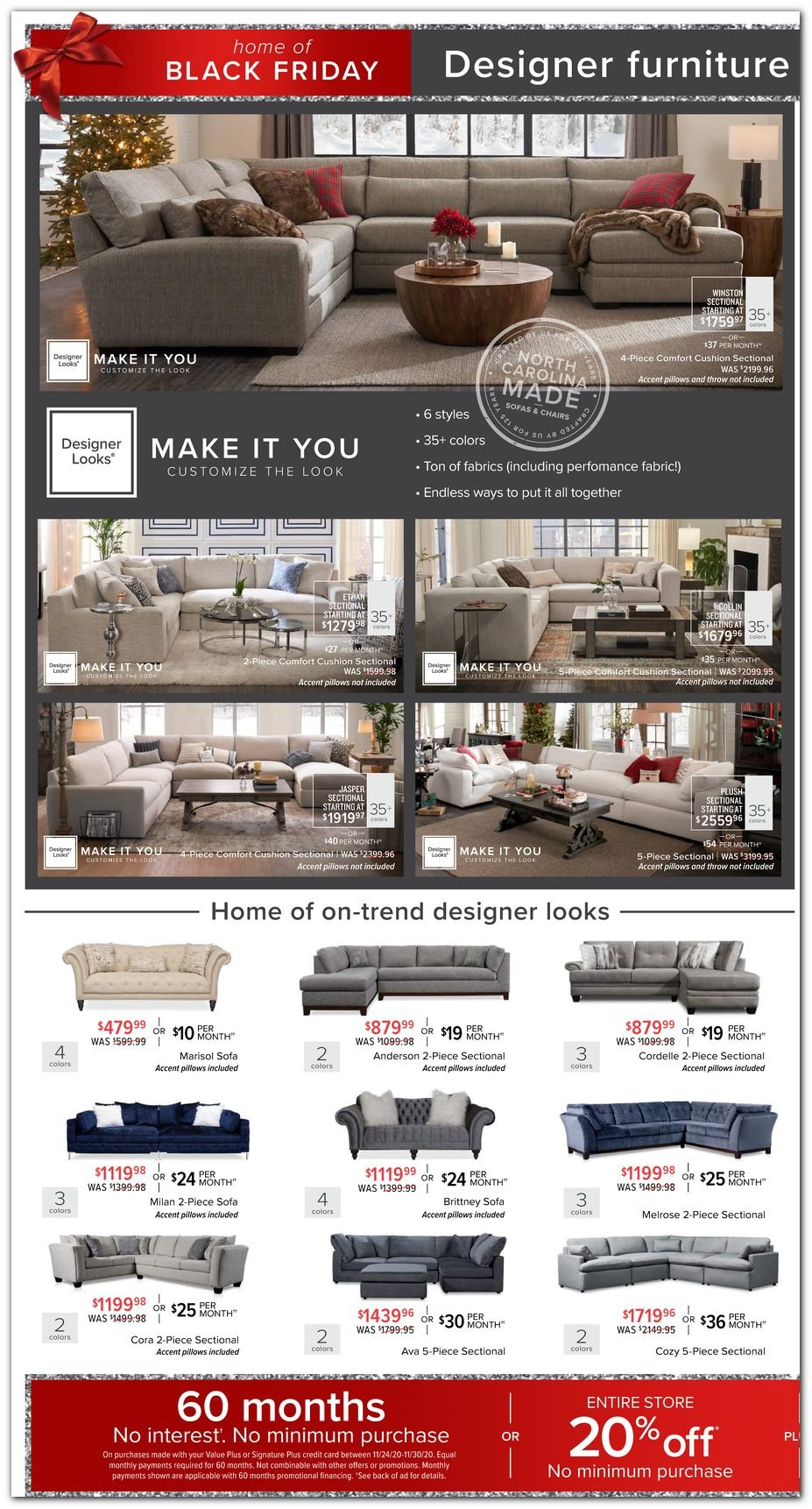 Value City Furniture Black Friday 2020 Page 3