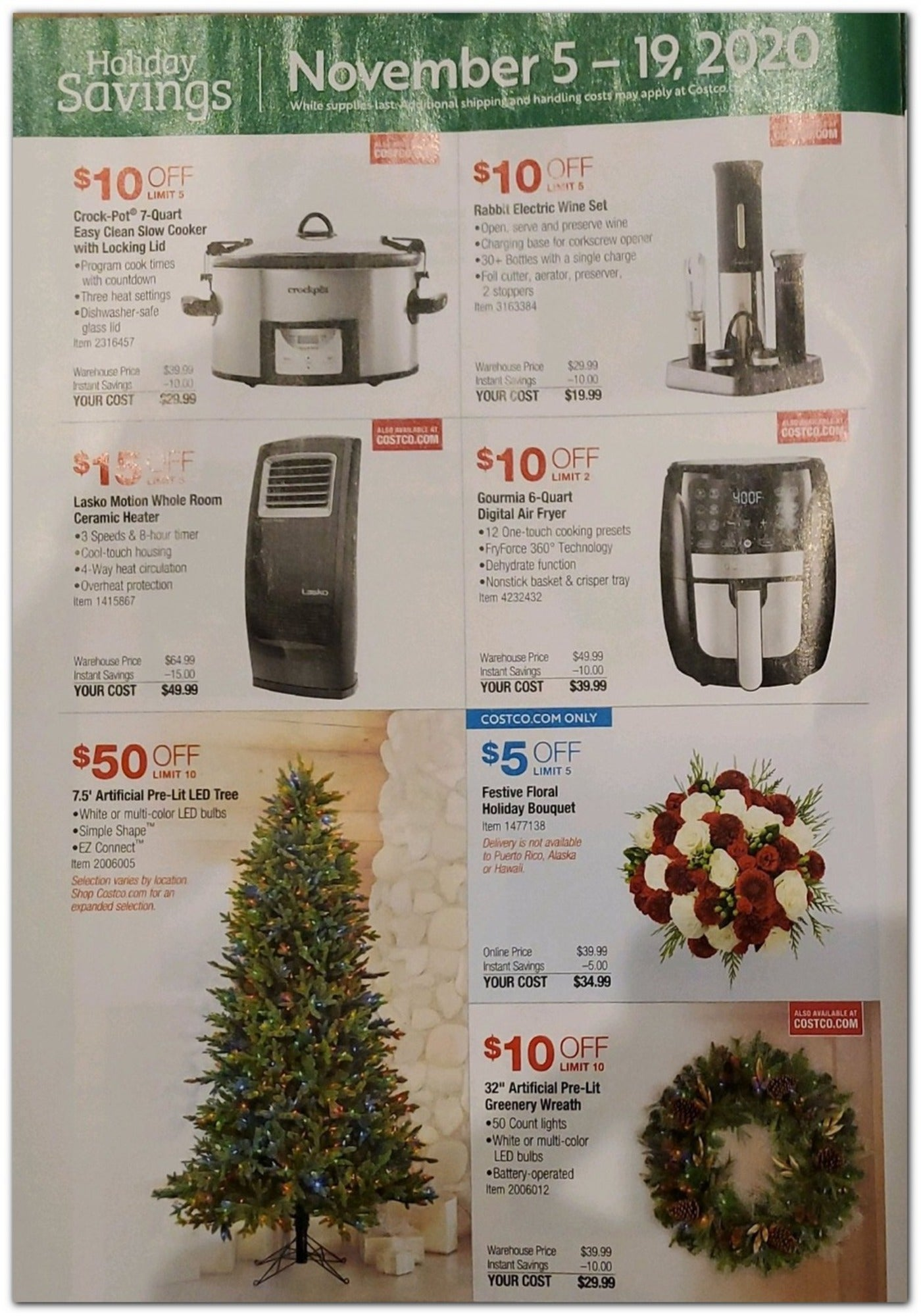 Costco Black Friday 2020 Page 4