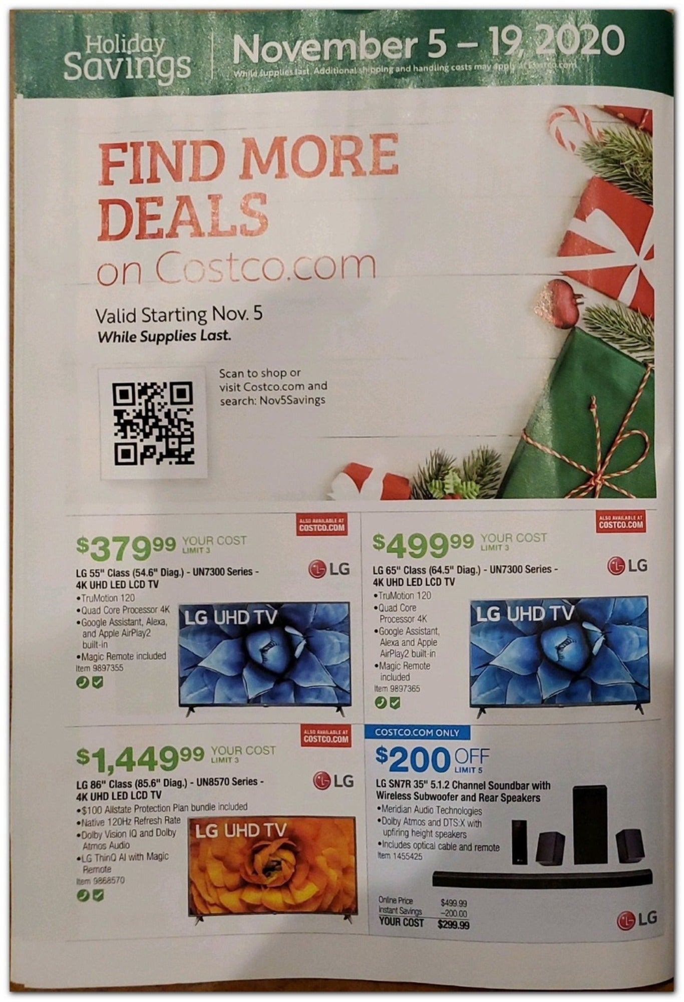 Costco Black Friday 2020 Page 8