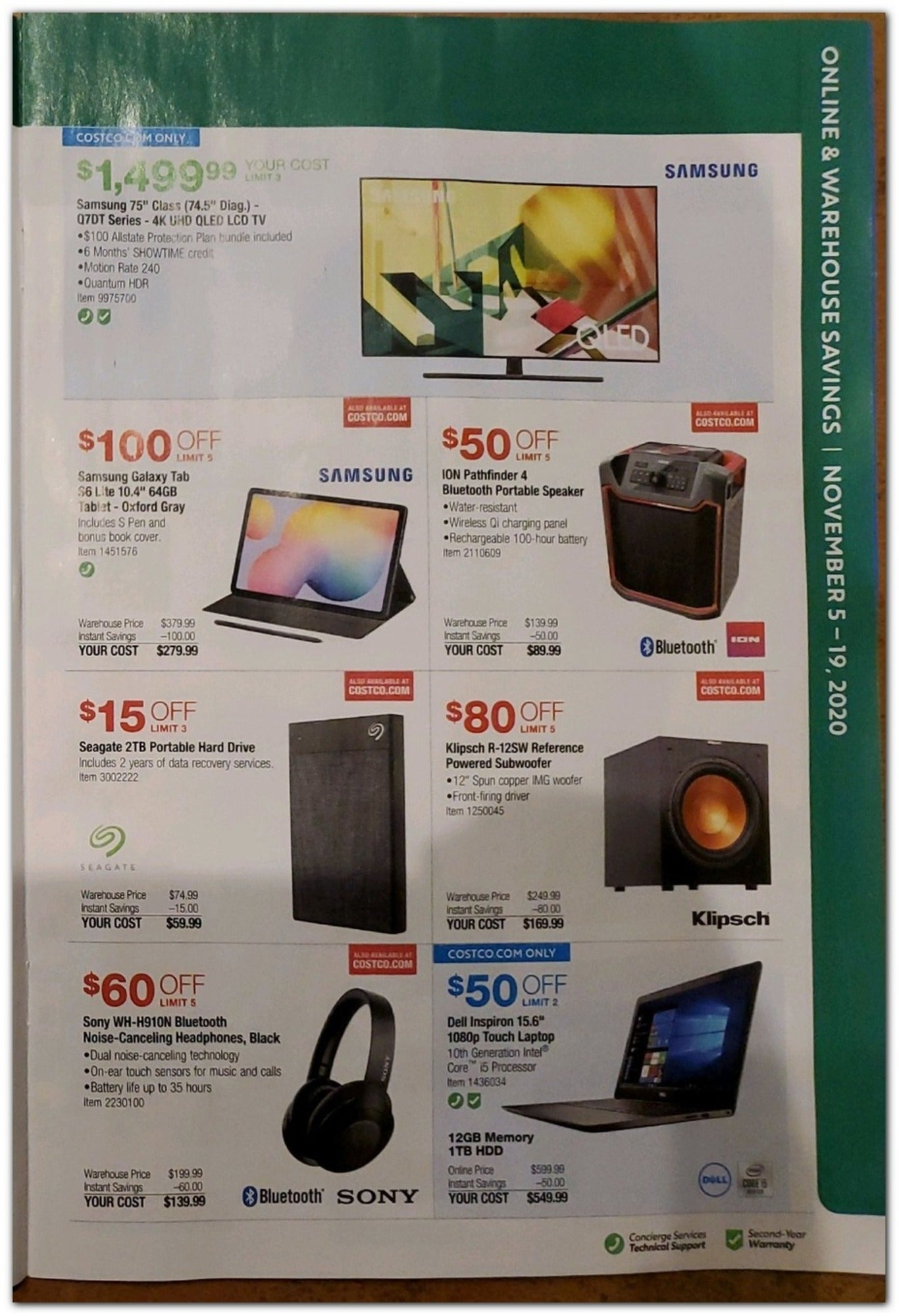 Costco Black Friday 2020 Page 9