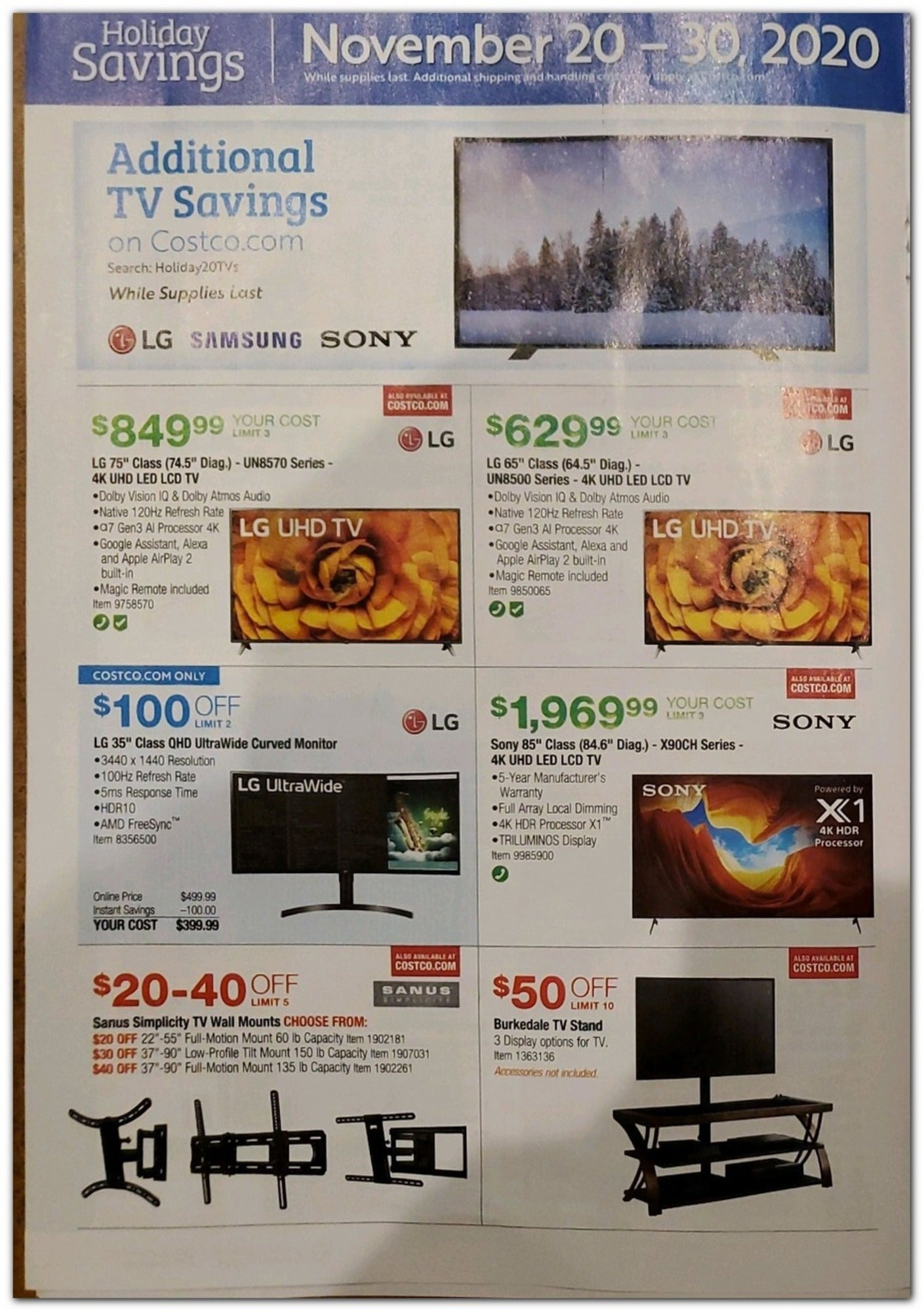 Costco Black Friday 2020 Page 16