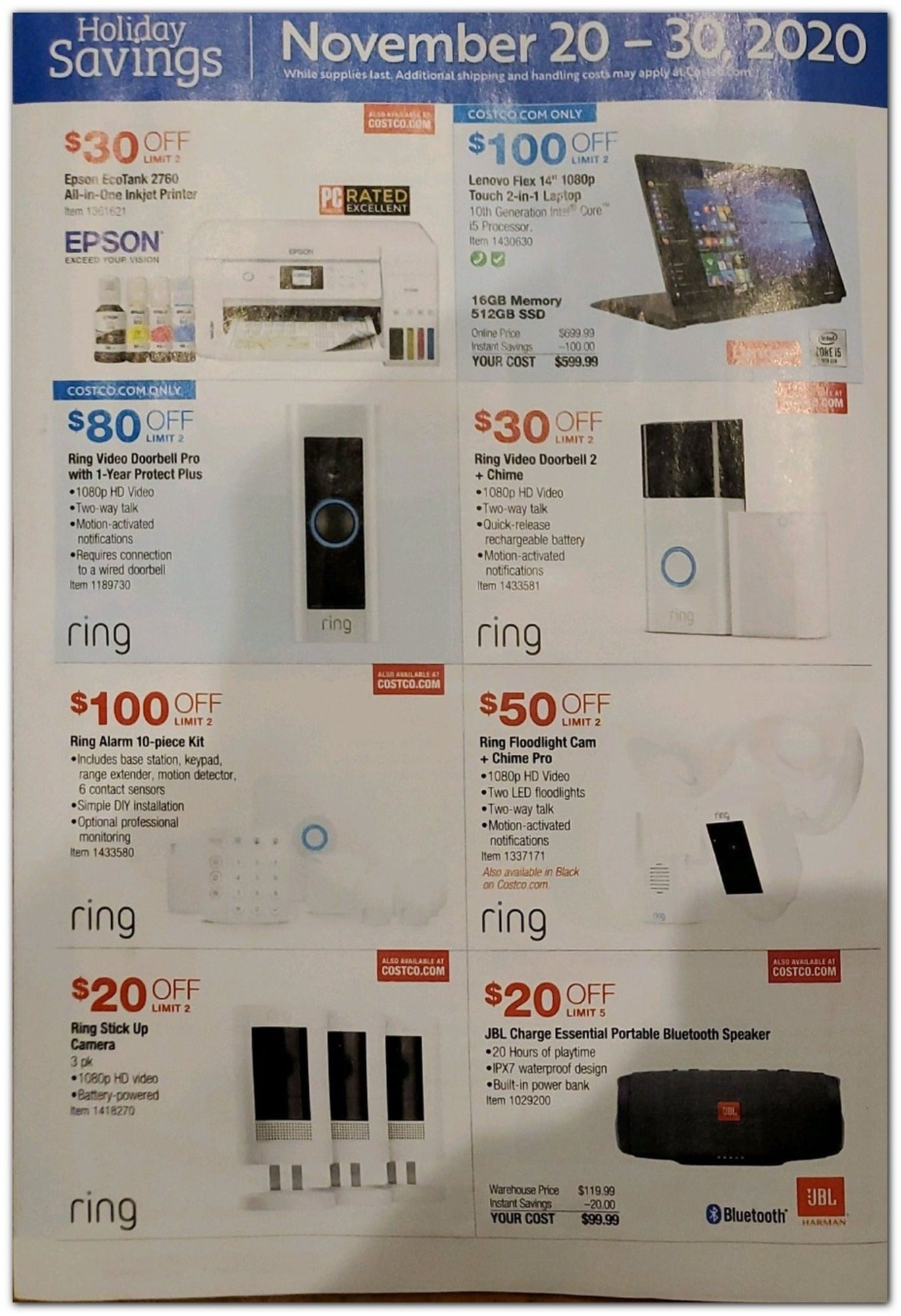 Costco Black Friday 2020 Page 18