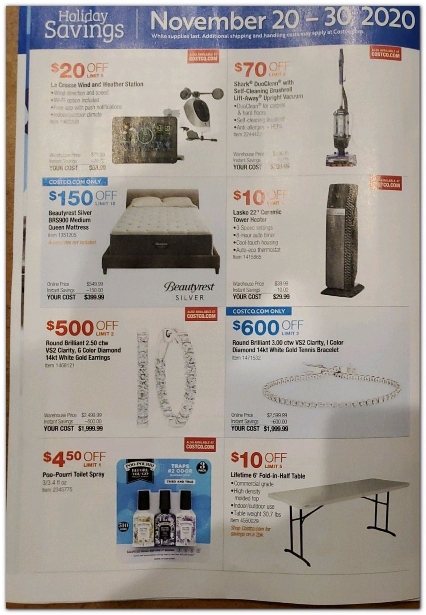 Costco Black Friday 2020 Page 22