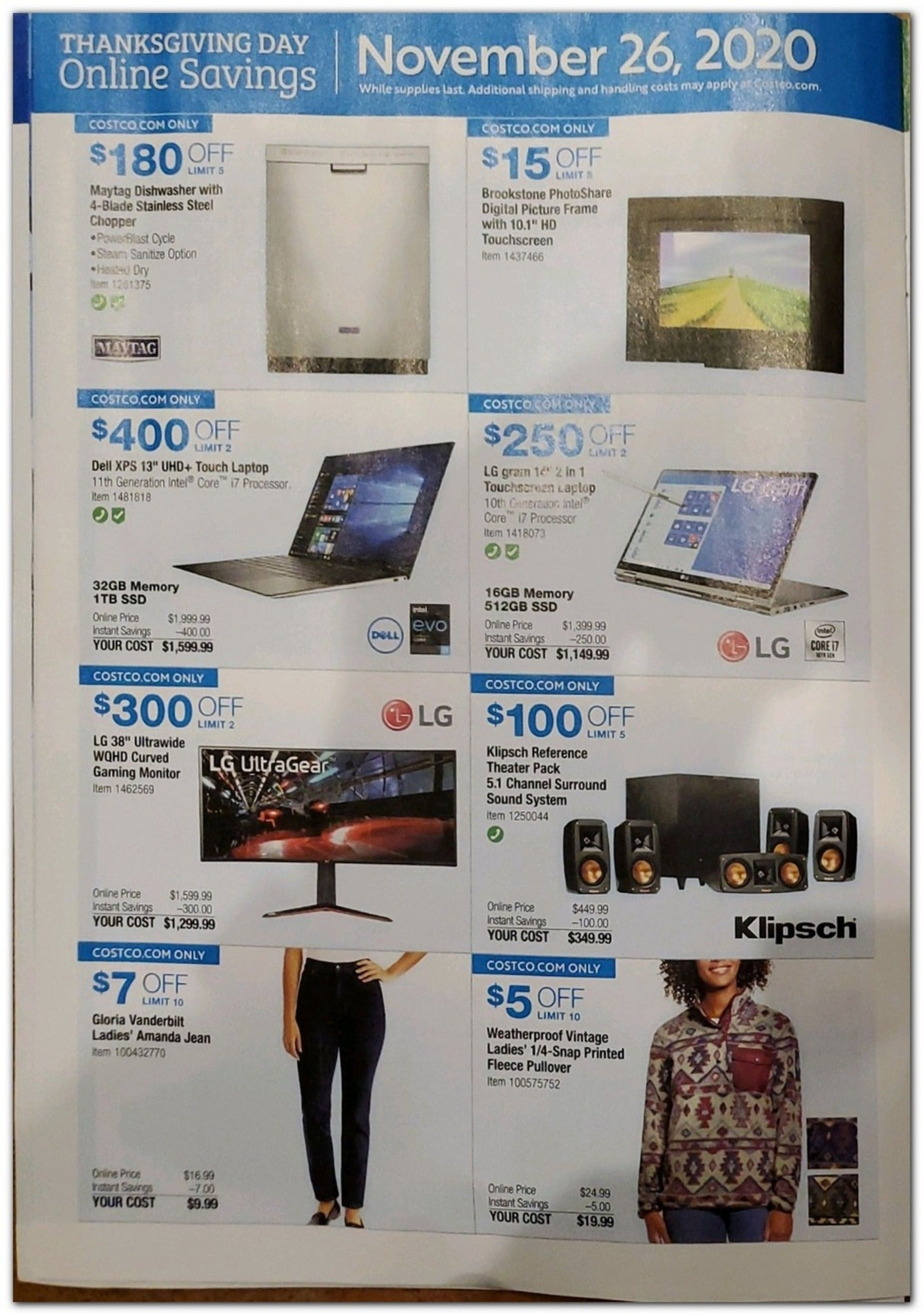 Costco Black Friday 2020 Page 24