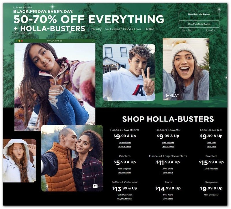 Aeropostale Black Friday 2020 Page 1