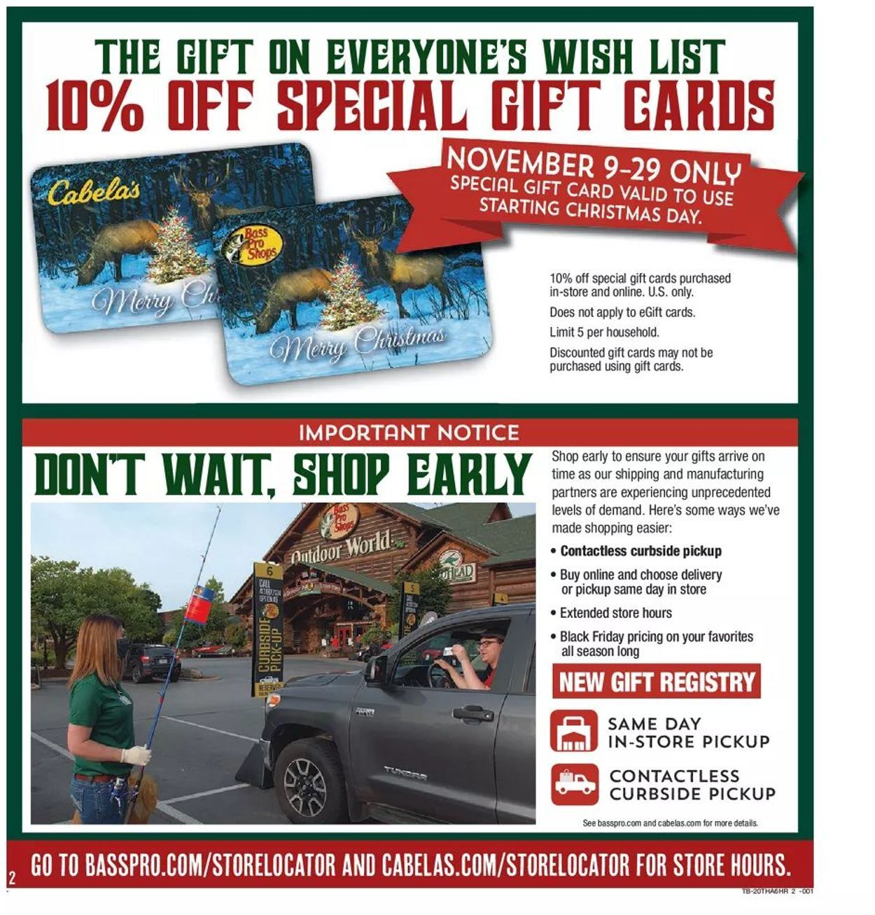 Bass Pro Shops Black Friday 2020 Page 2