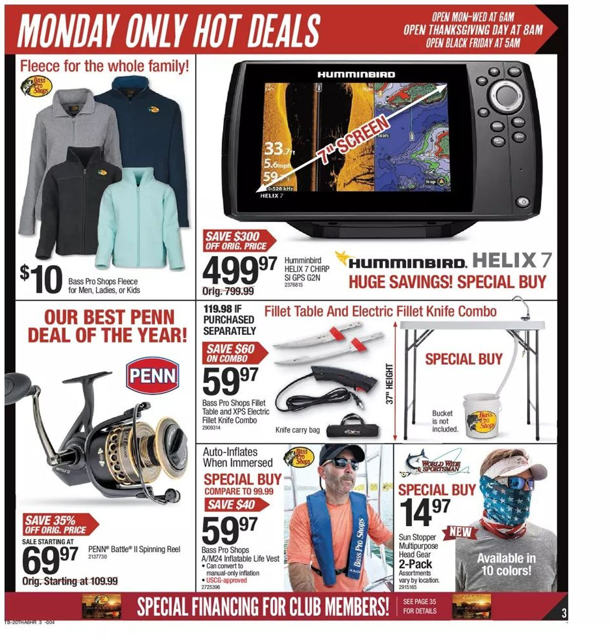 Bass Pro Shops Black Friday 2020 Page 3