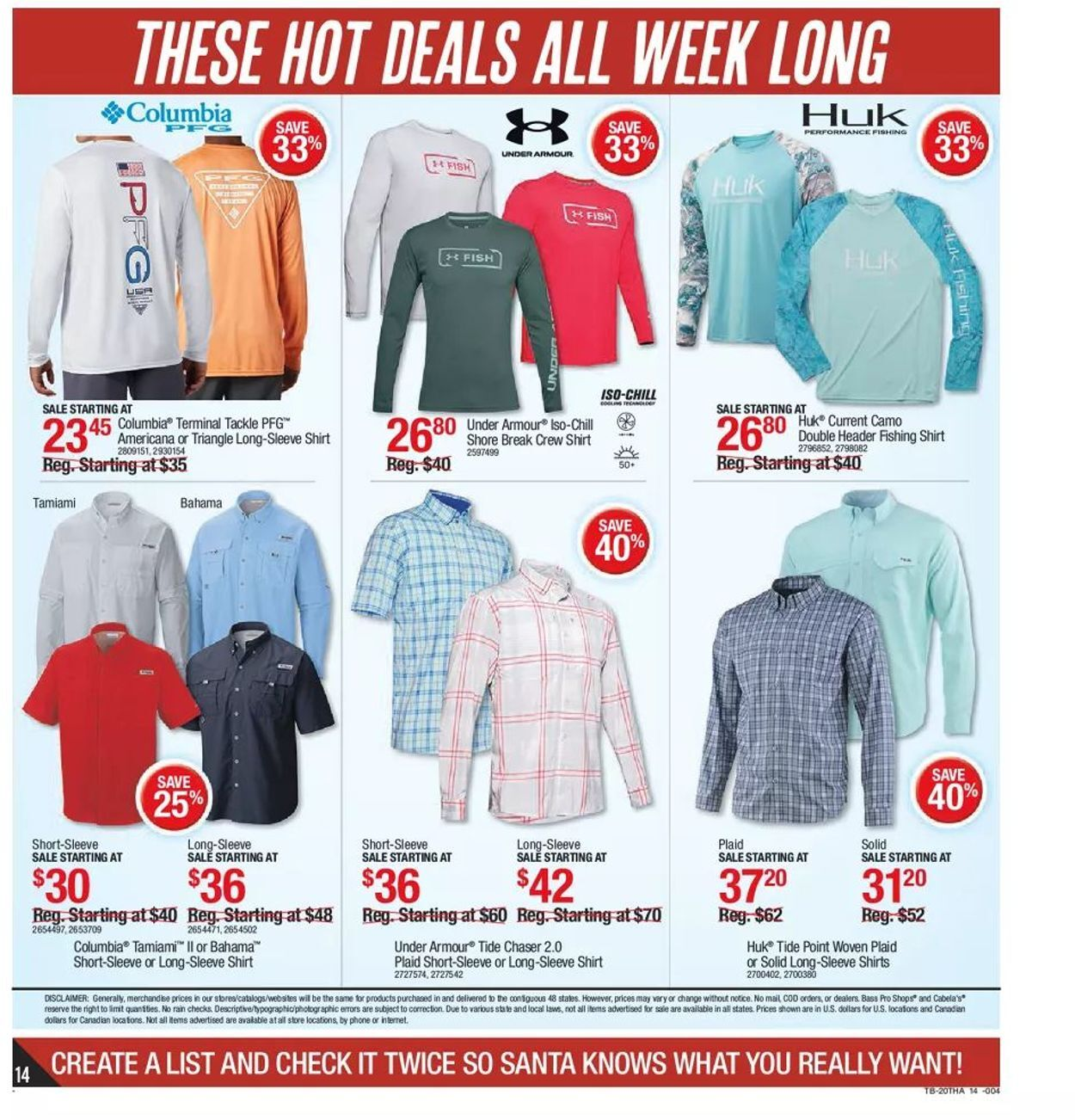 Bass Pro Shops Black Friday 2020 Page 14