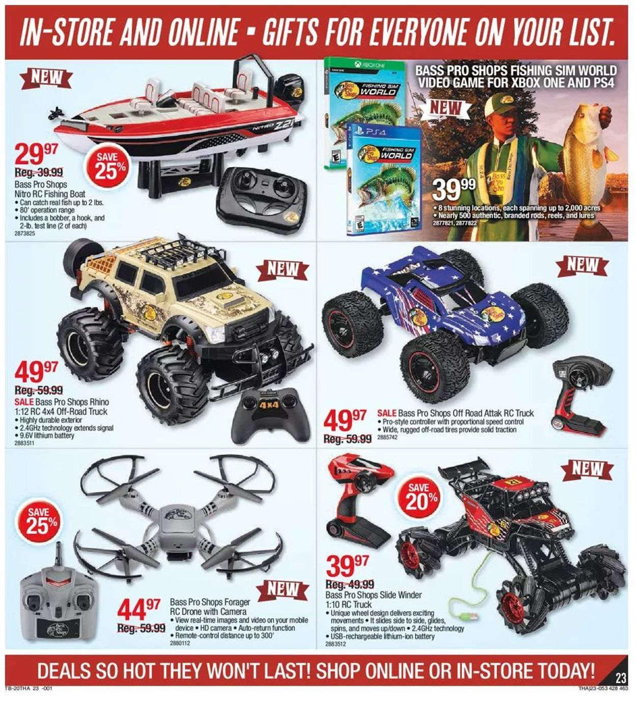 Bass Pro Shops Black Friday 2020 Page 23