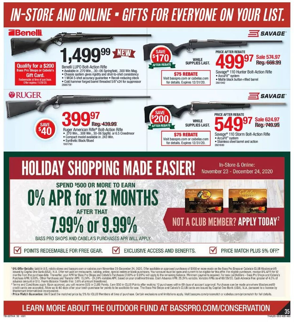 Bass Pro Shops Black Friday 2020 Page 35