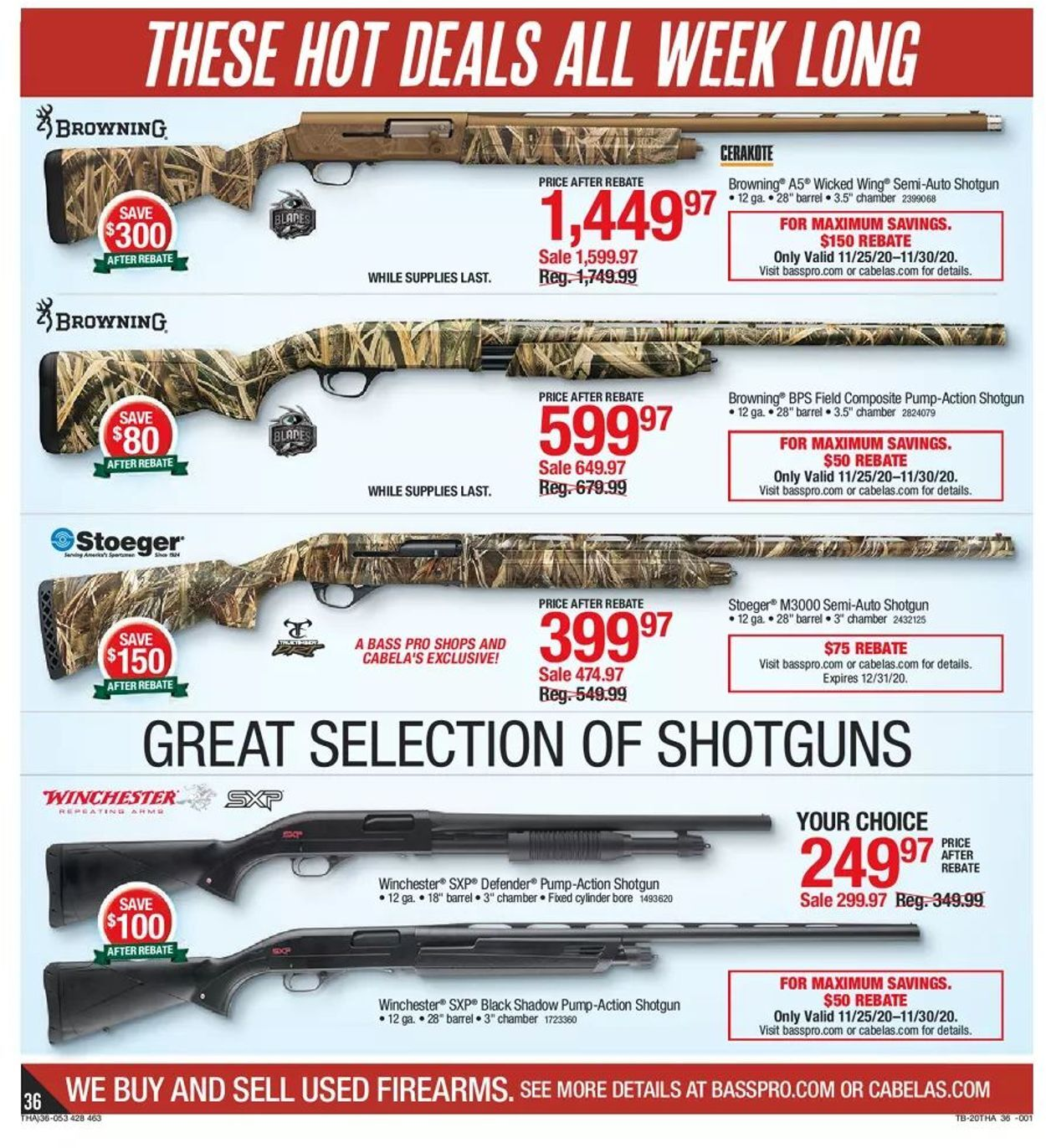 Bass Pro Shops Black Friday 2020 Page 36