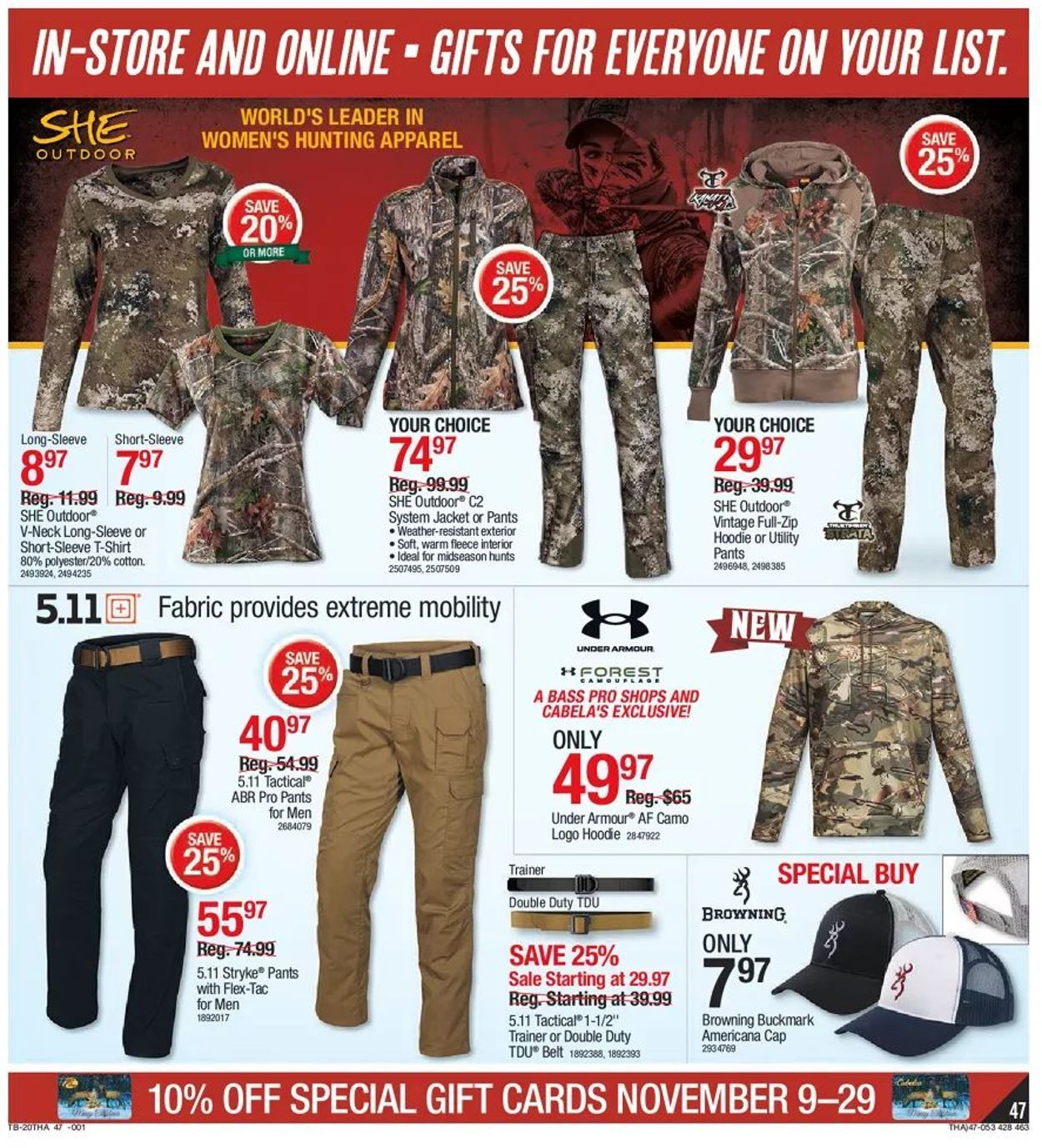 Bass Pro Shops Black Friday 2020 Page 47