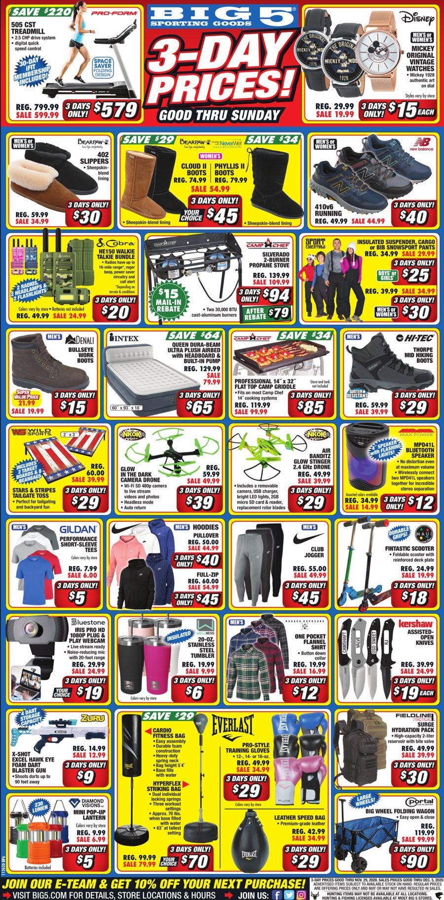 Big 5 Sporting Goods Black Friday 2020 Page 6