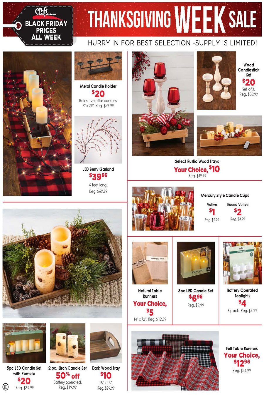 Craft Warehouse Black Friday 2020 Page 10
