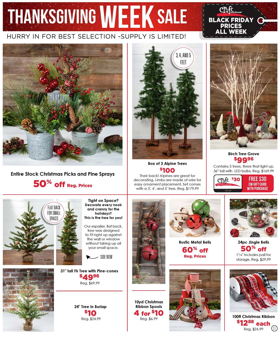 Craft Warehouse Black Friday 2020 Page 11