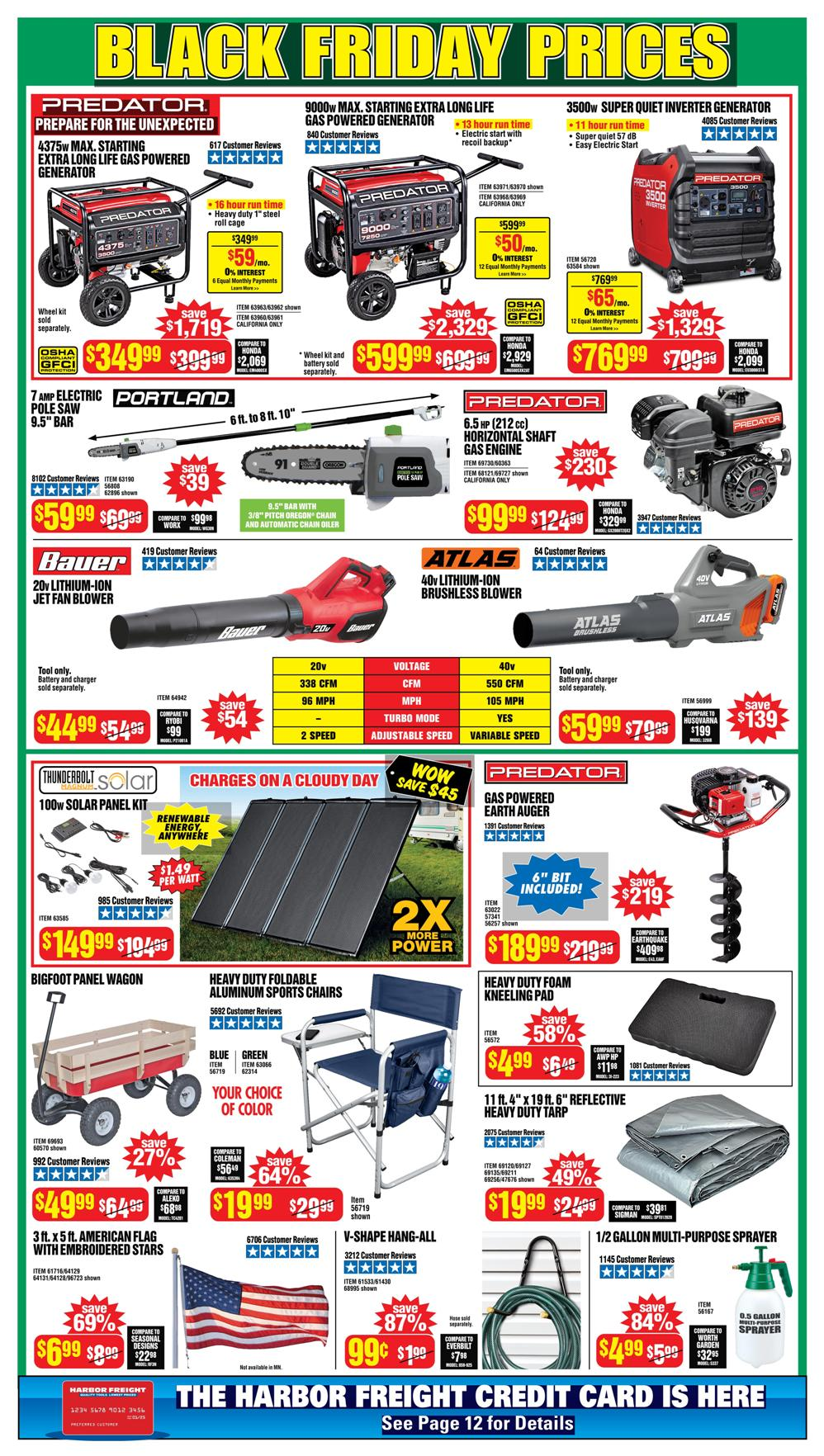 Harbor Freight Black Friday 2020 Page 2