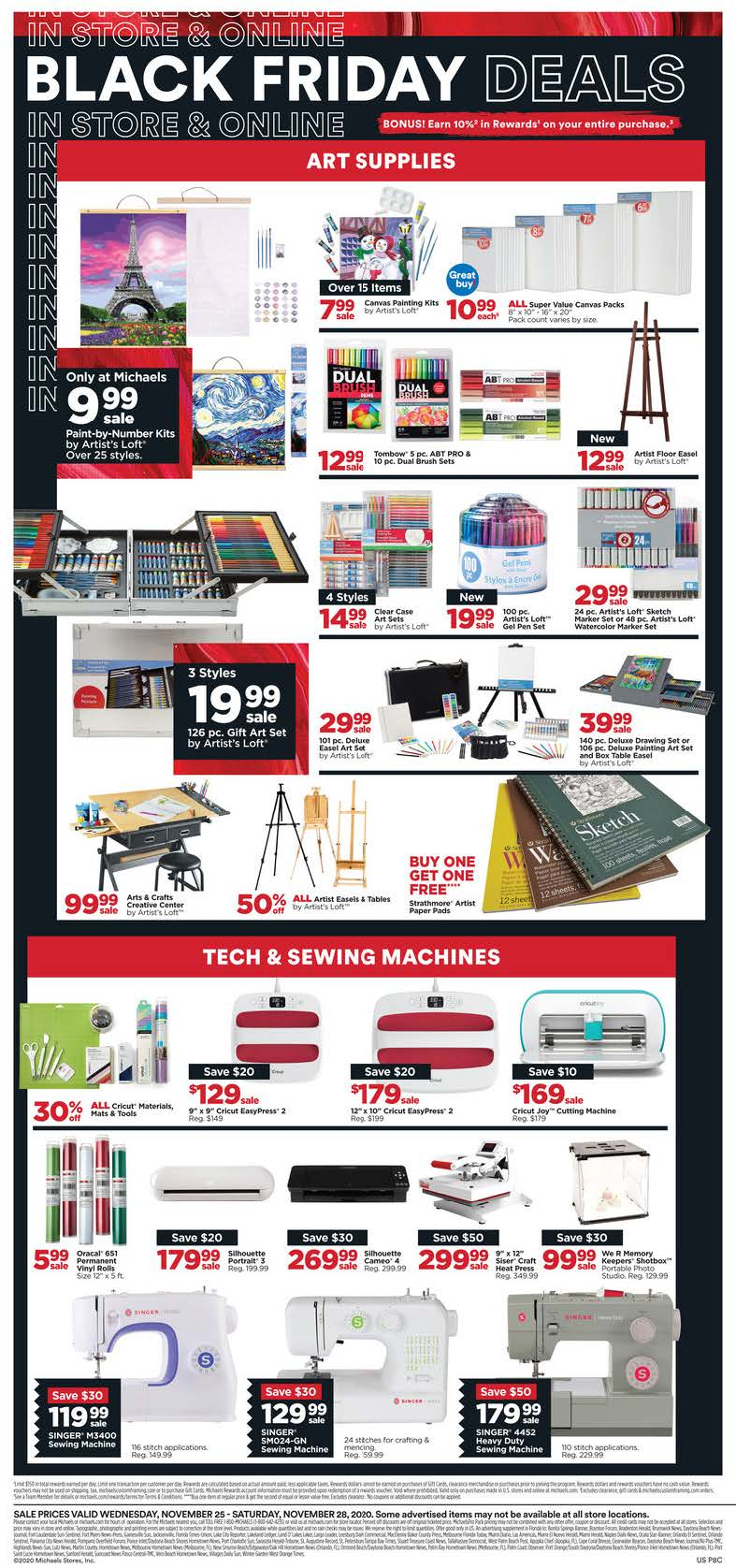 Michaels Black Friday 2020 Page 6