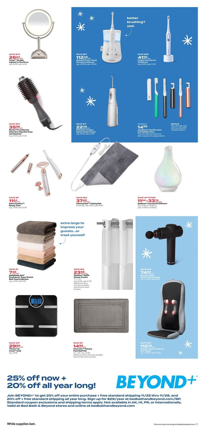 Bed Bath & Beyond Black Friday 2020 Page 7