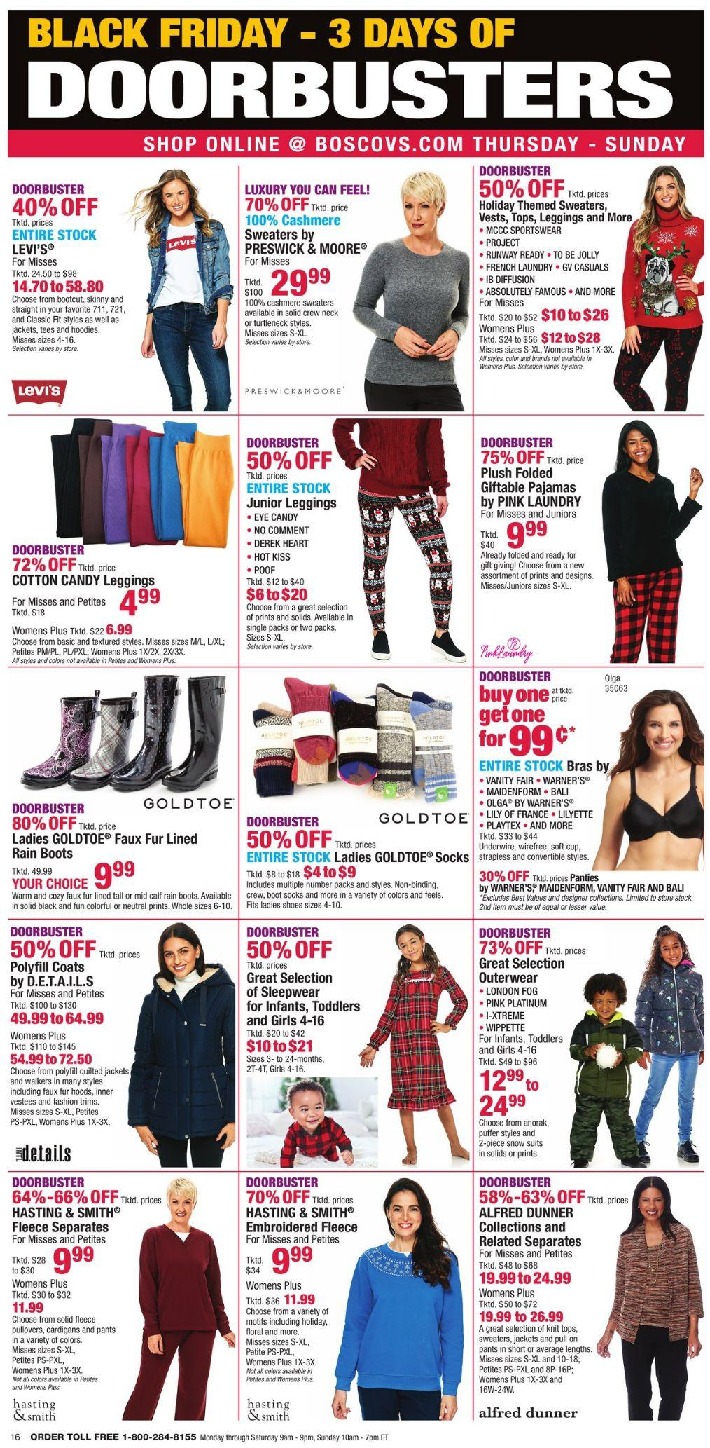 Boscov's Black Friday 2020 Page 16