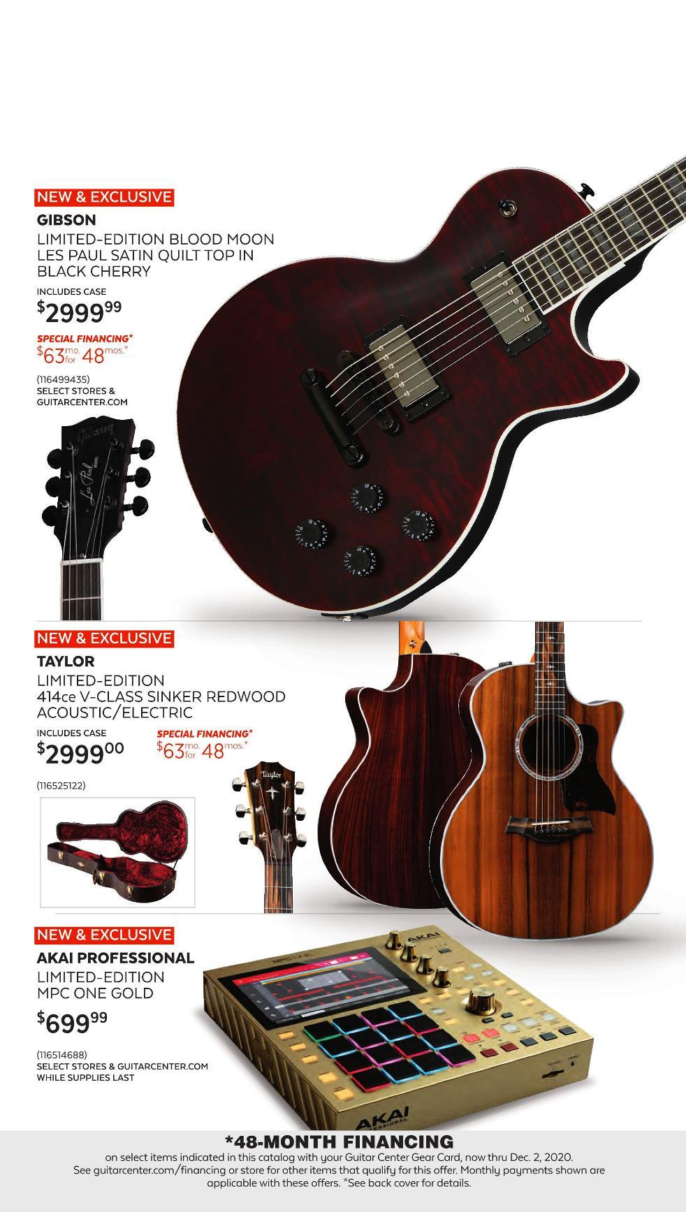 Guitar Center Black Friday 2020 Page 3