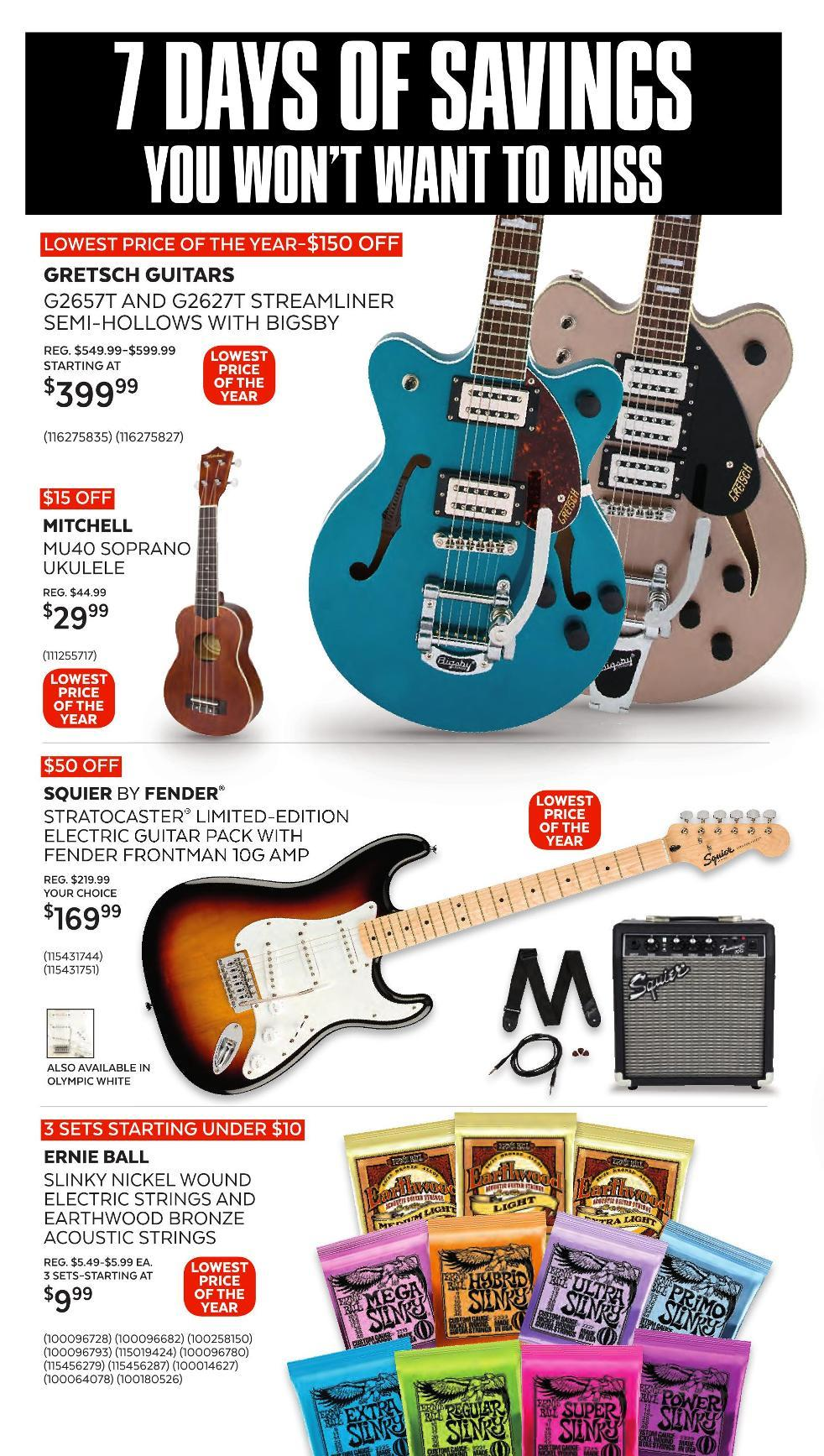 Guitar Center Black Friday 2020 Page 5