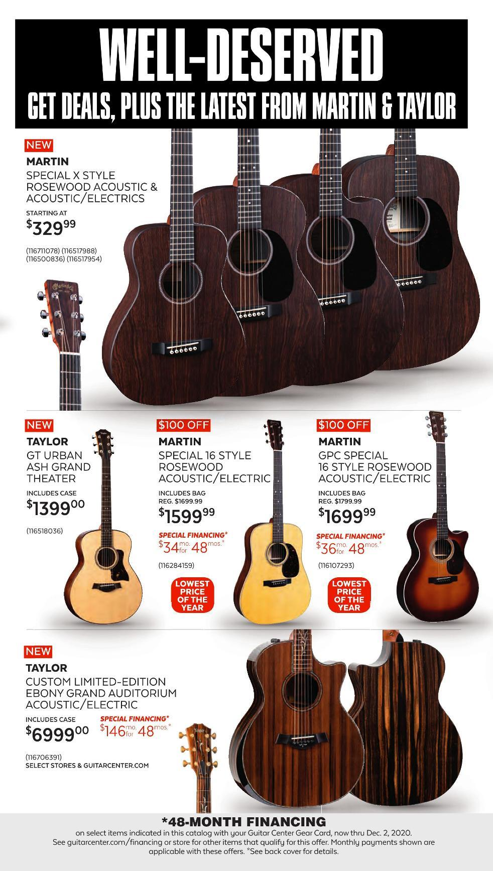 Guitar Center Black Friday 2020 Page 7