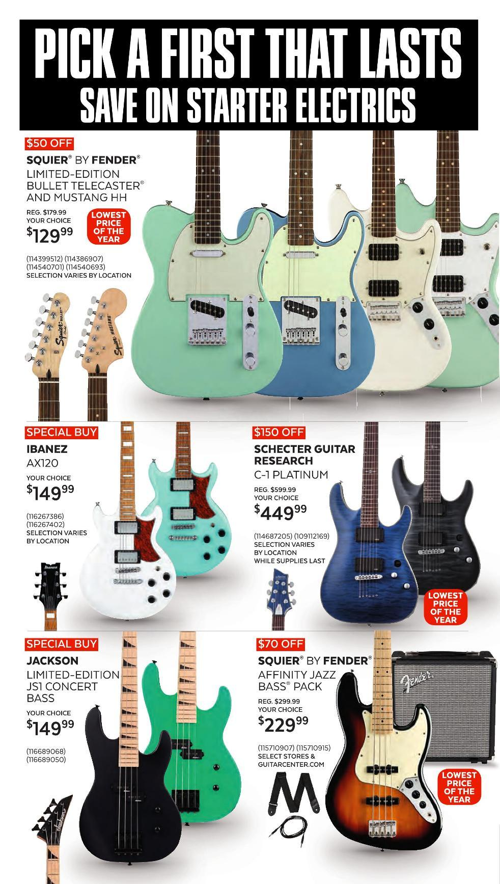 Guitar Center Black Friday 2020 Page 8