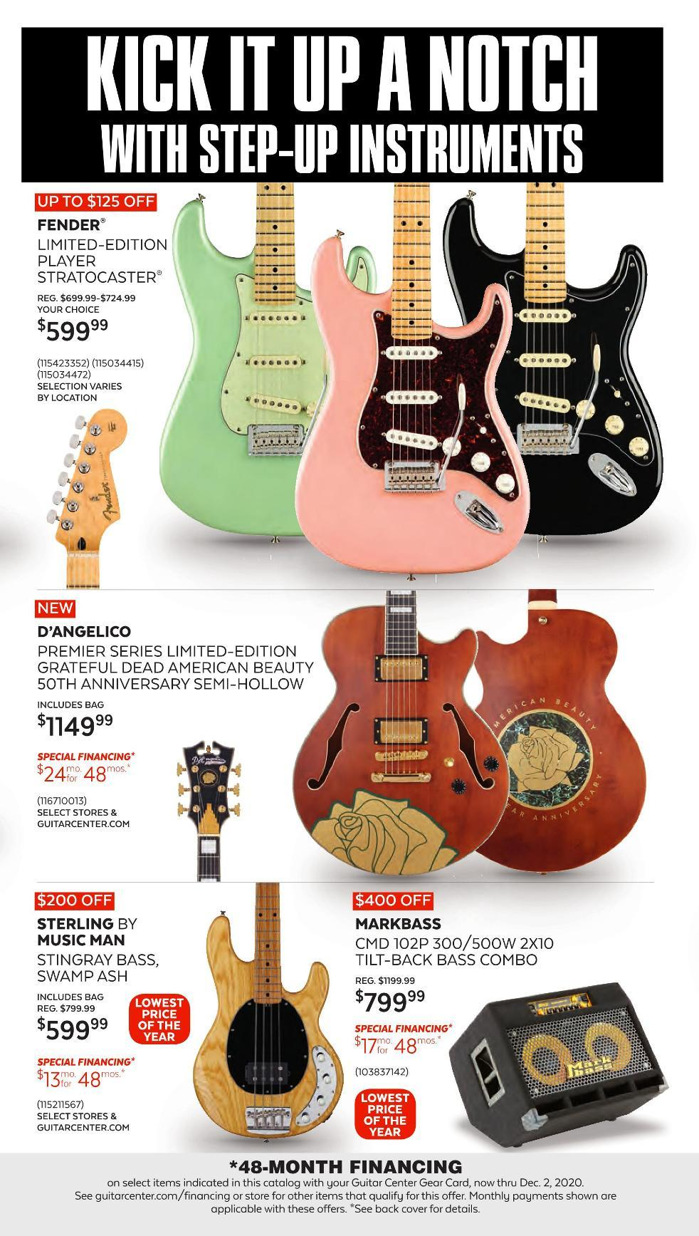 Guitar Center Black Friday 2020 Page 9