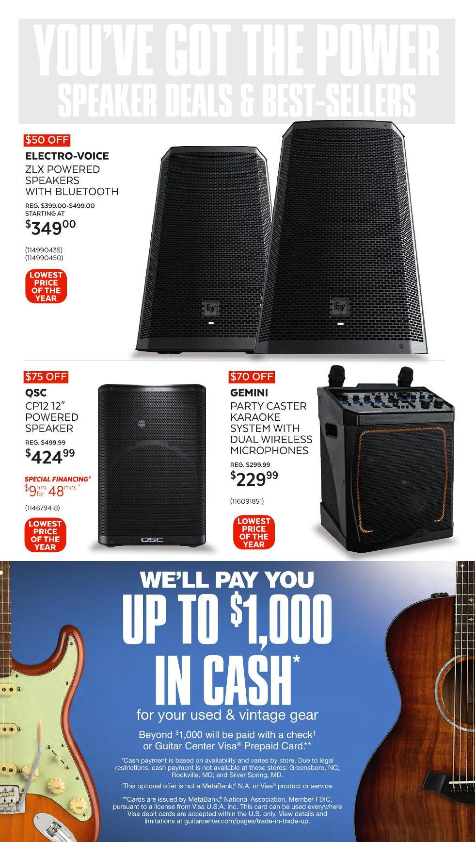 Guitar Center Black Friday 2020 Page 20