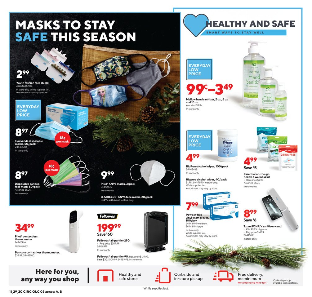 Staples Cyber Monday 2020 Page 5