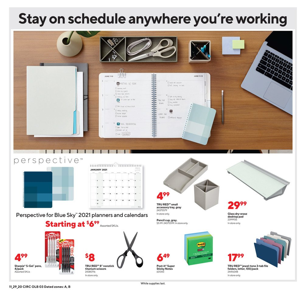 Staples Cyber Monday 2020 Page 8