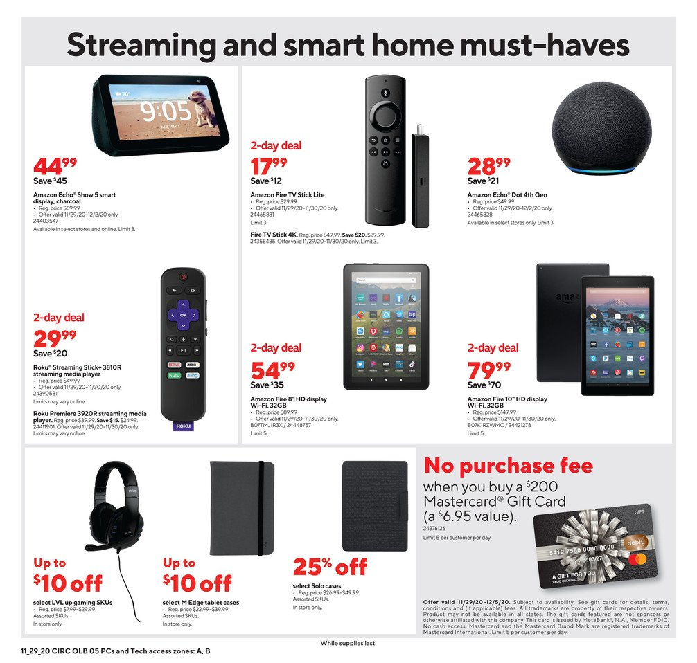 Staples Cyber Monday 2020 Page 10