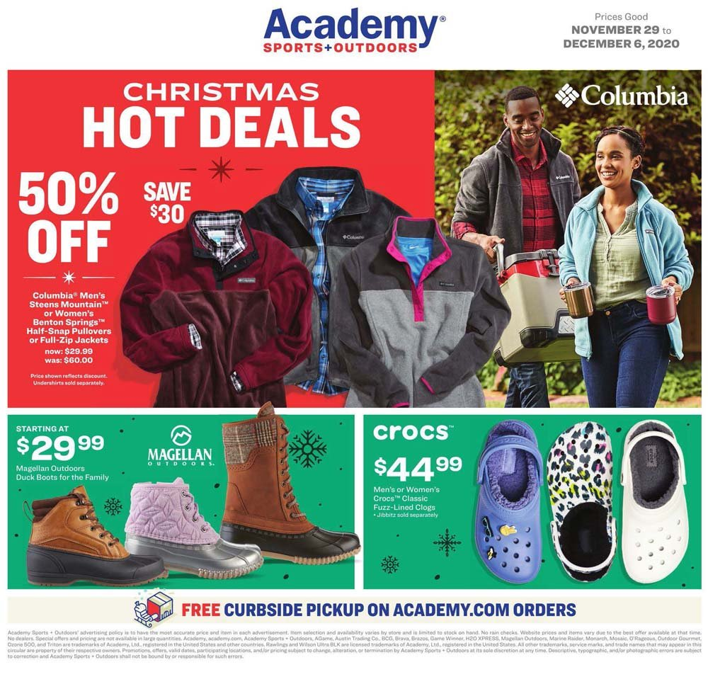 Academy Sports & Outdoors Cyber Monday 2020 Page 4
