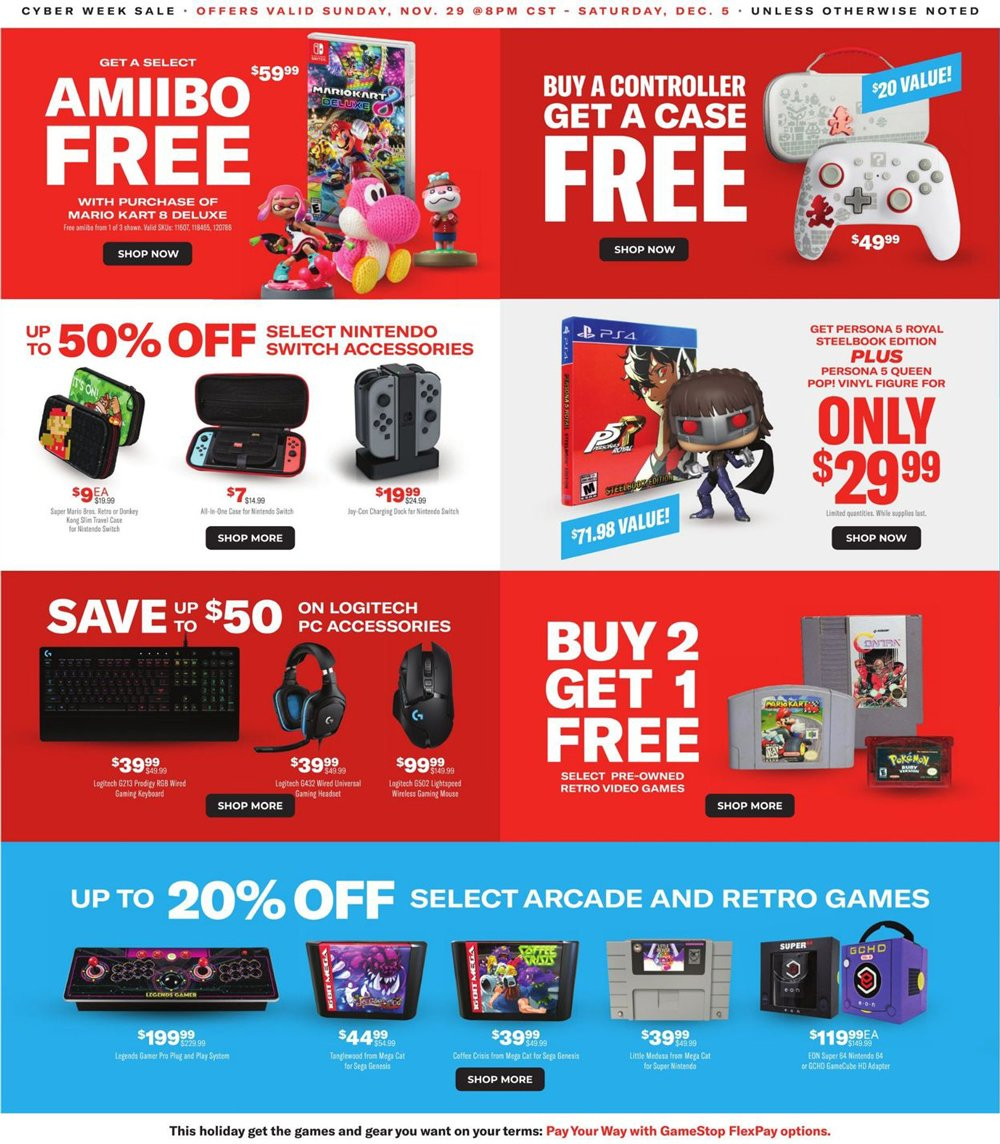 GameStop Cyber Monday 2020 Page 4