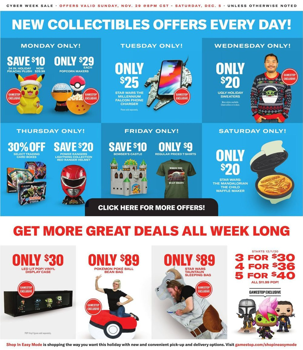 GameStop Cyber Monday 2020 Page 5