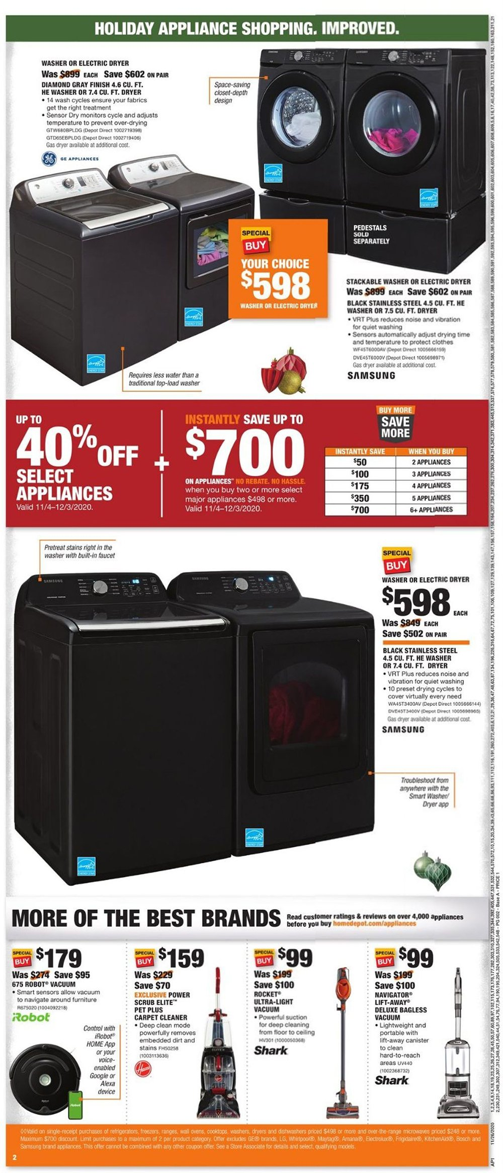 Home Depot Cyber Monday 2020 Page 4