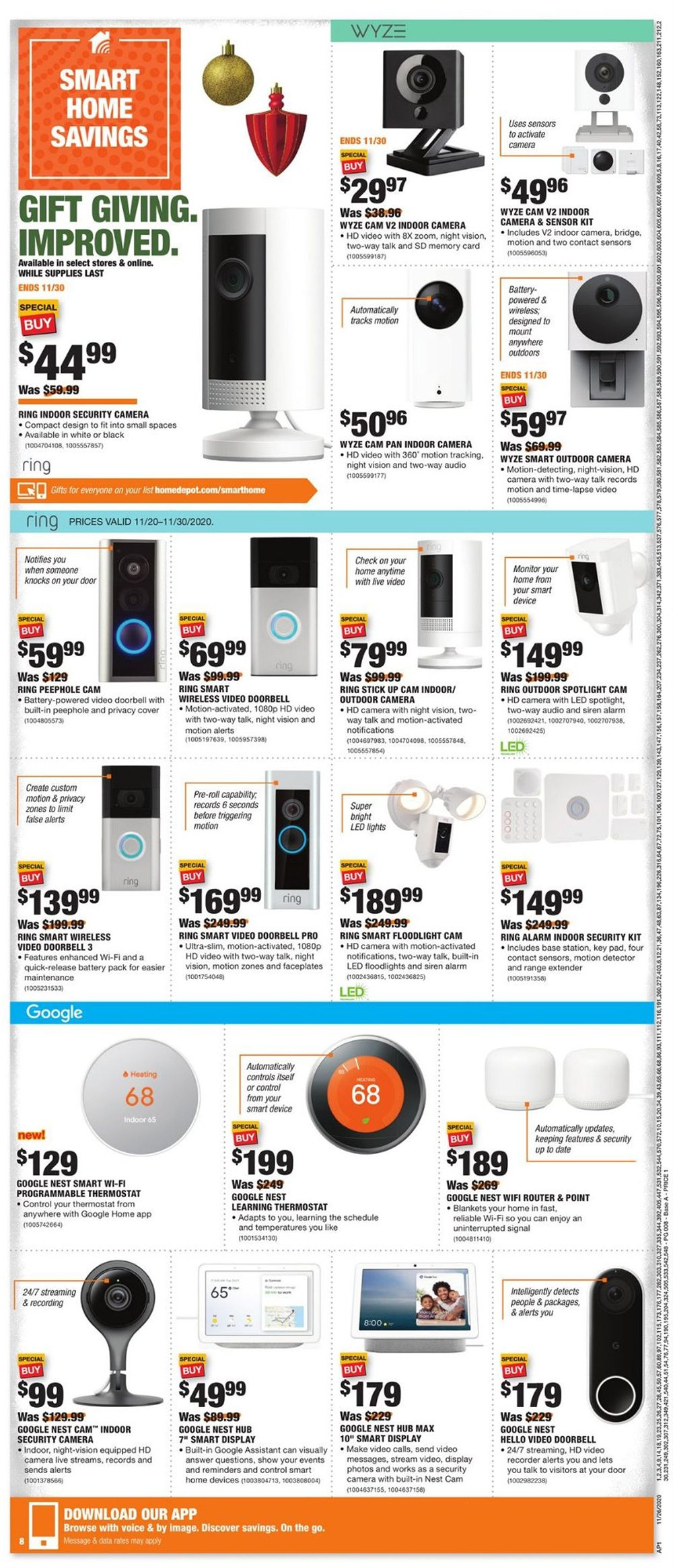 Home Depot Cyber Monday 2020 Page 10