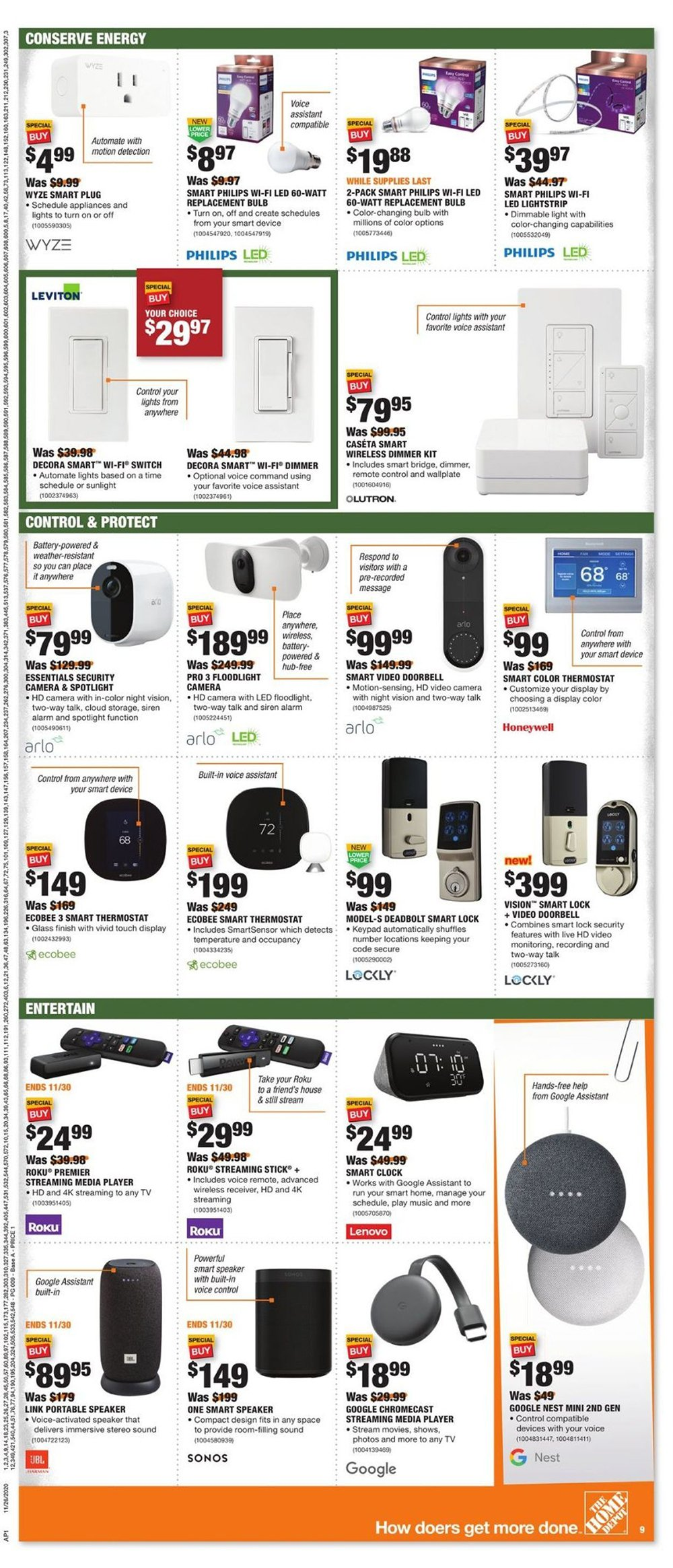 Home Depot Cyber Monday 2020 Page 11