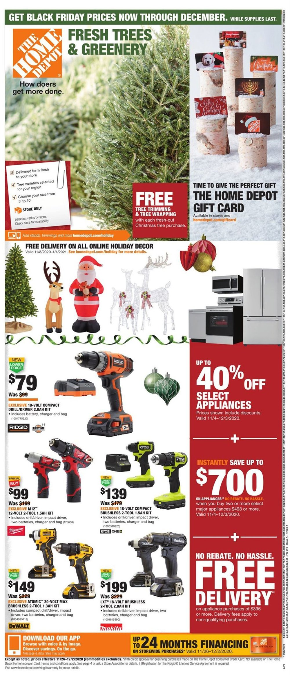 Home Depot Cyber Monday 2020 Page 12