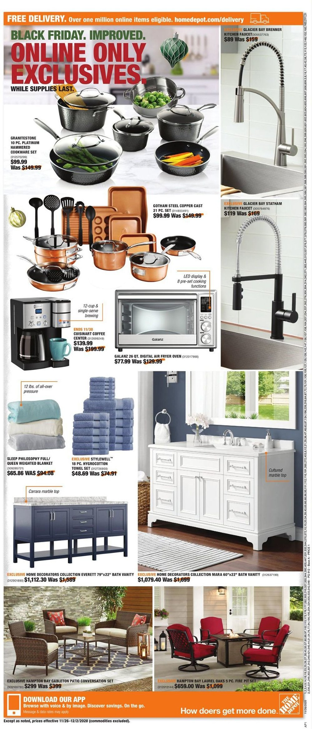 Home Depot Cyber Monday 2020 Page 3