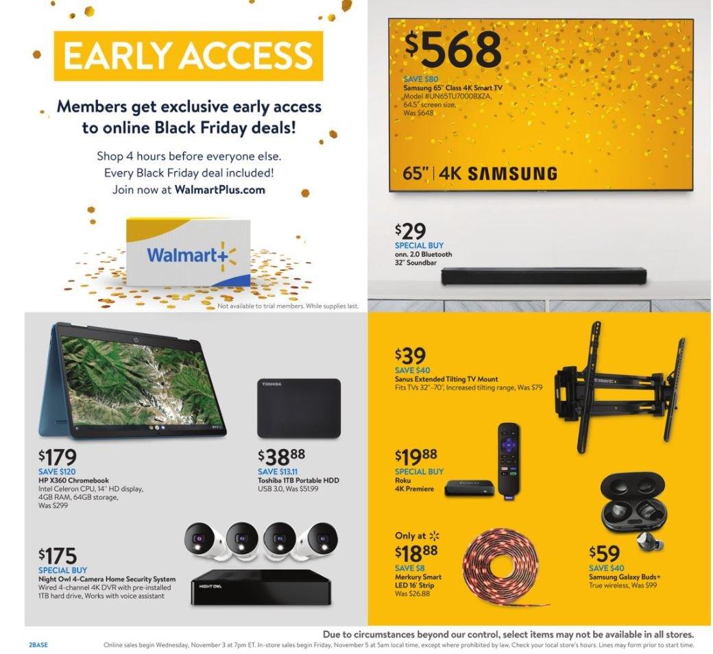 Walmart Black Friday November 3 - 7, 2021 Page 2