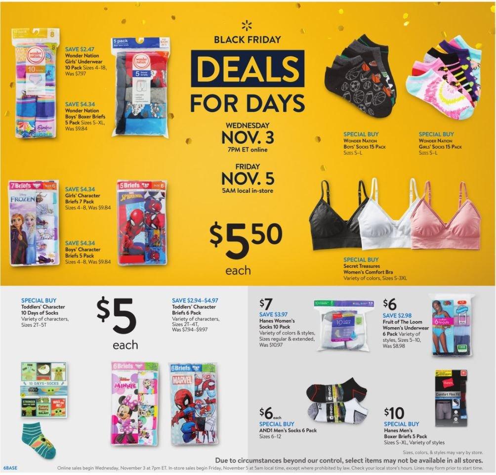 Walmart Black Friday November 3 - 7, 2021 Page 6