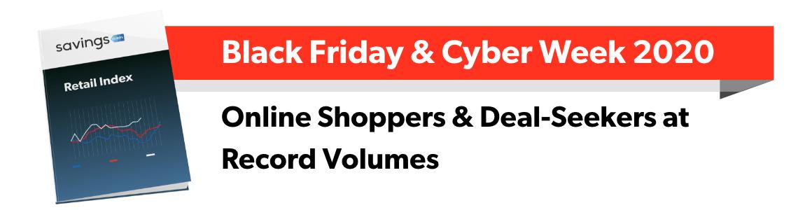 Savings.com Retail Index: Black Friday & Cyber Week 2020