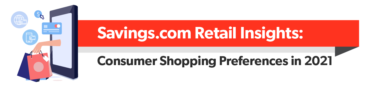 Savings.com Retail Insights: Consumer Shopping Preferences in 2021