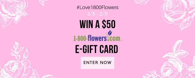 Win a $50 e-gift card from 1-800-Flowers.