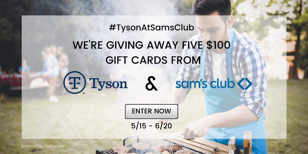 Win a $100 Sam's Club gift card!