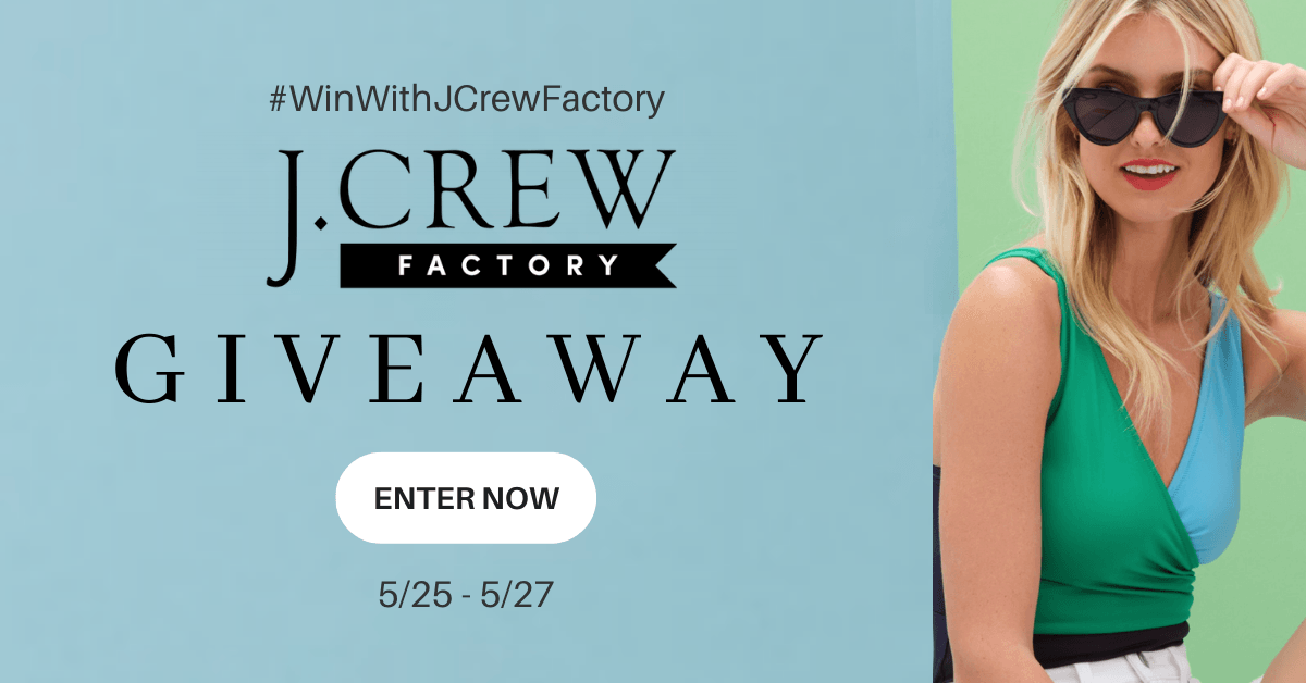 Win a $100 e-gift card to spend at J.Crew Factory!