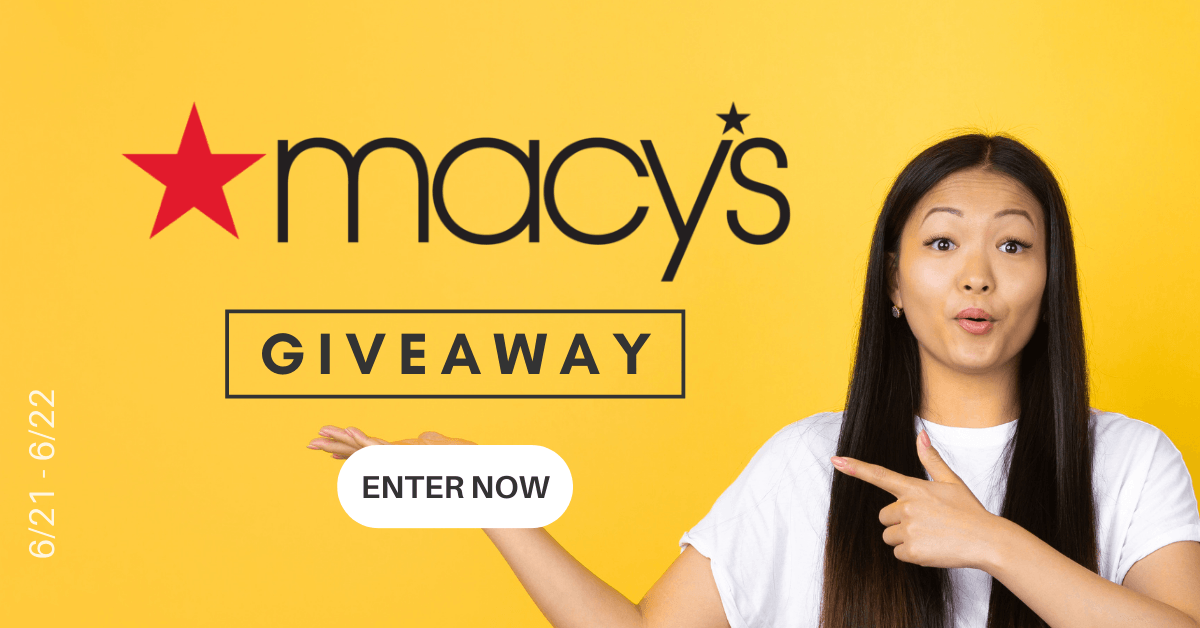 Win a $250 e-gift card to spend at Macy's!