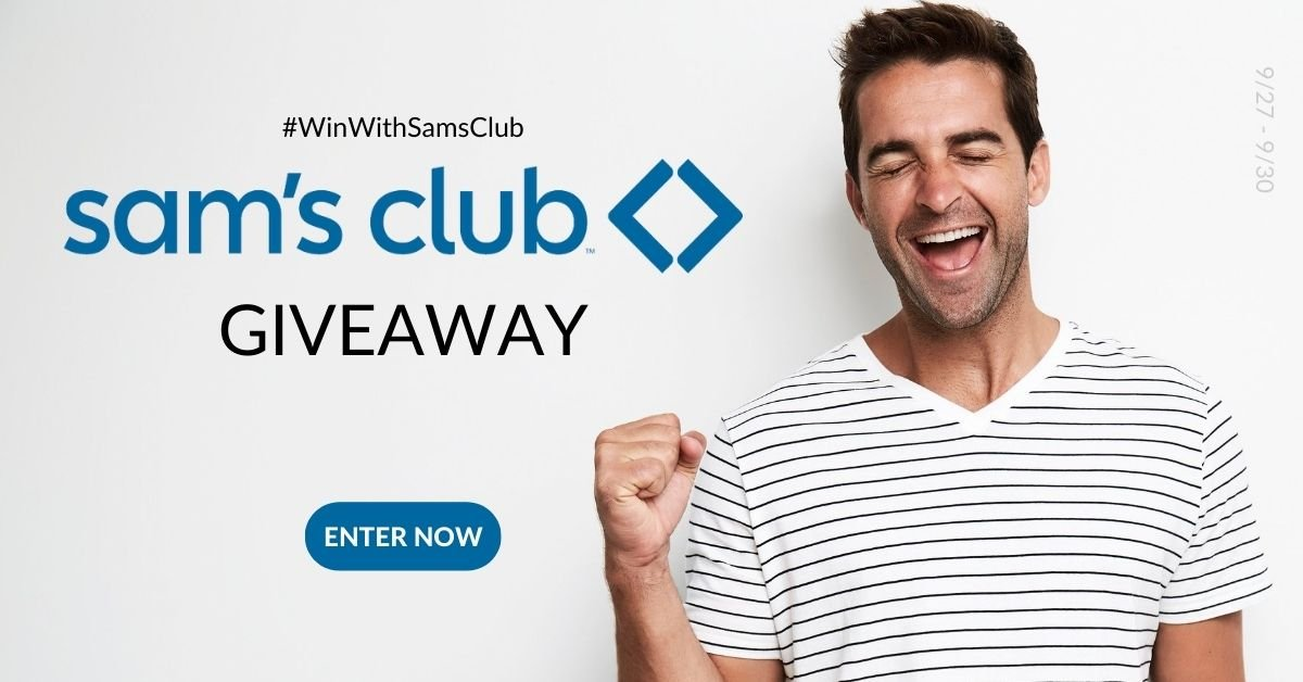Win a $100 e-gift card to spend at Sam's Club!